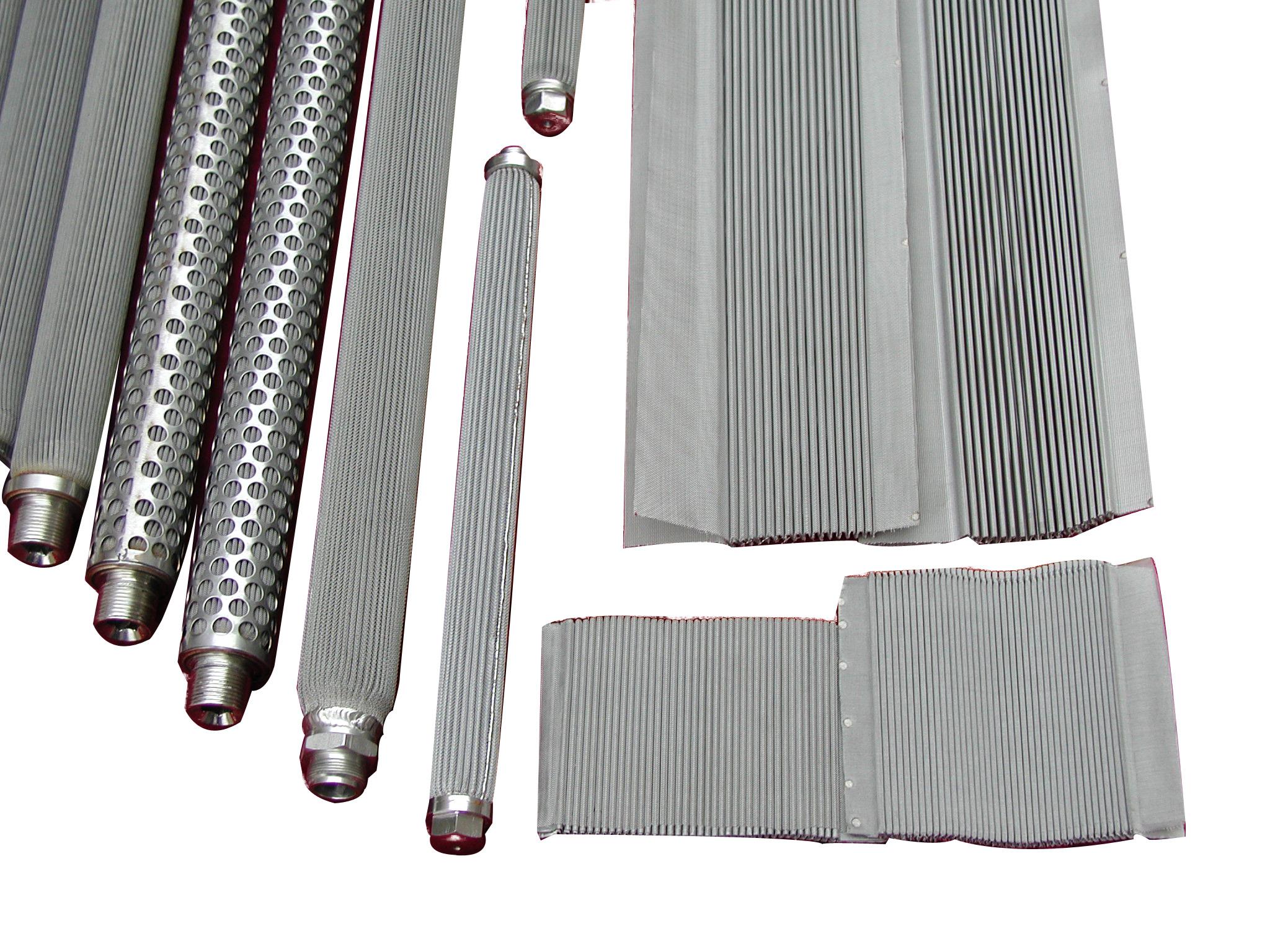 金属纤维折波滤芯